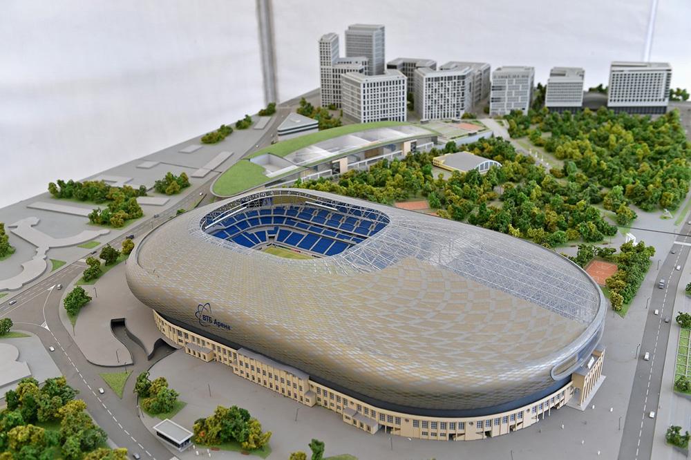 связи громким строительство стадиона динамо фото роскошной лестнице горький