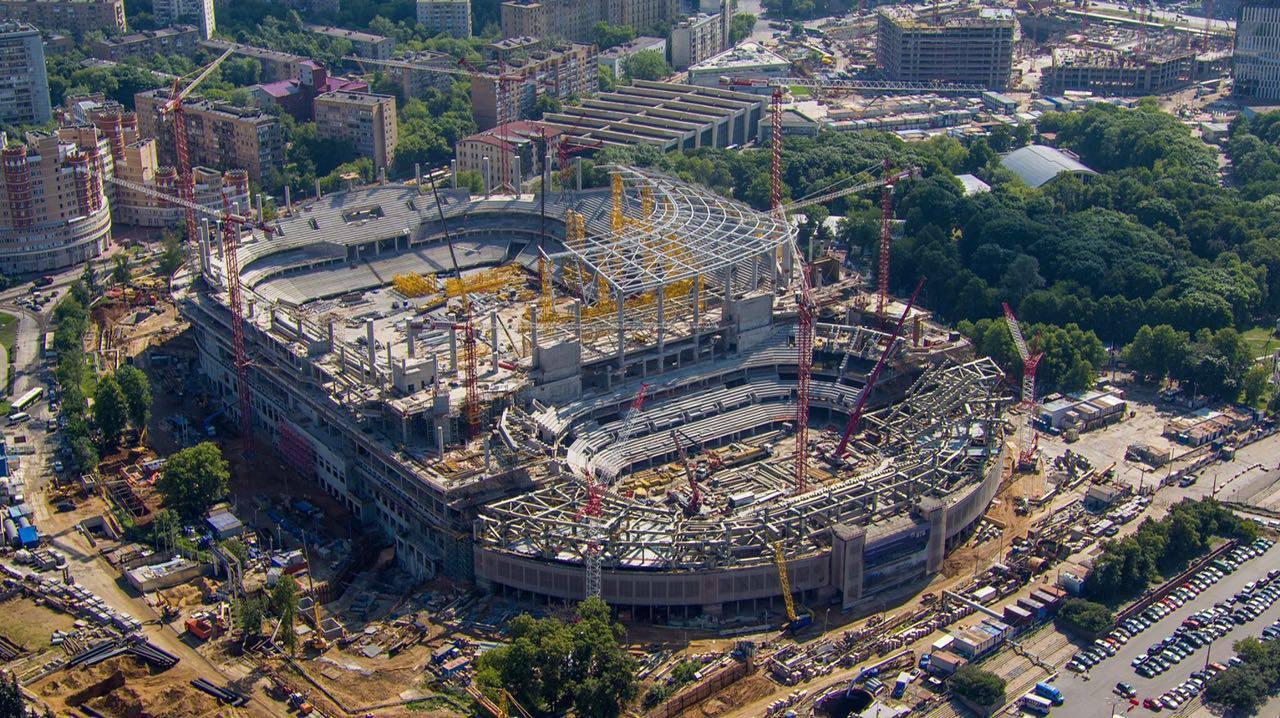 умер строительство стадиона динамо фото сравнении
